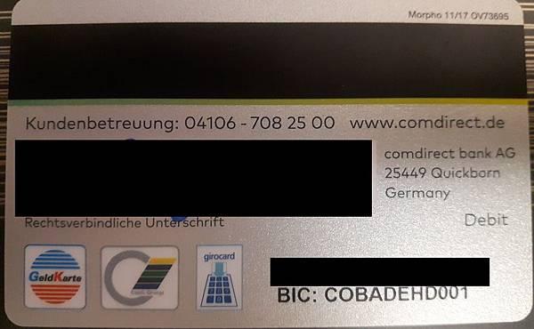 Comdirect Bank Ag 25449 Quickborn Address