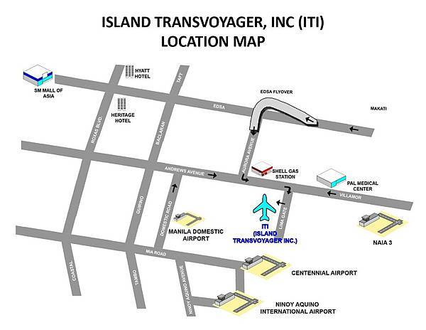 Route to  Island Transvoyager Inc