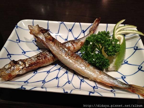 狸御殿-烤柳葉魚