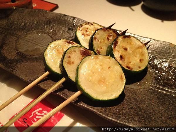胡同 侍 串燒夜食-焱烤節瓜