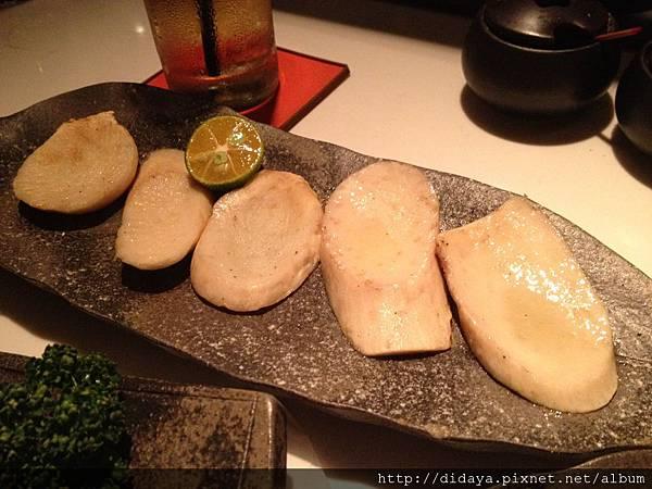 胡同 侍 串燒夜食-焱烤杏鮑菇