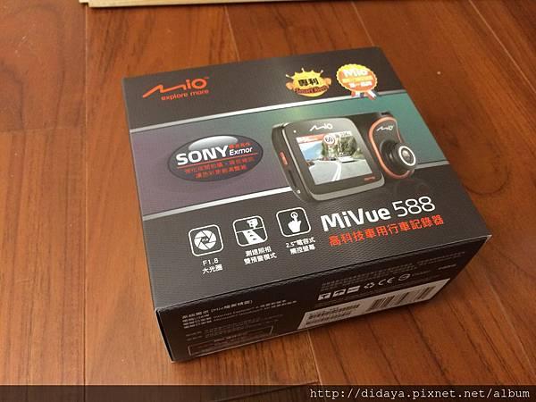 Mio mivue 588HD 行車紀錄器