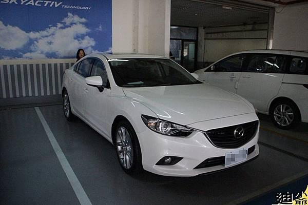 Mazda6 Skyactiv-D 開箱-1