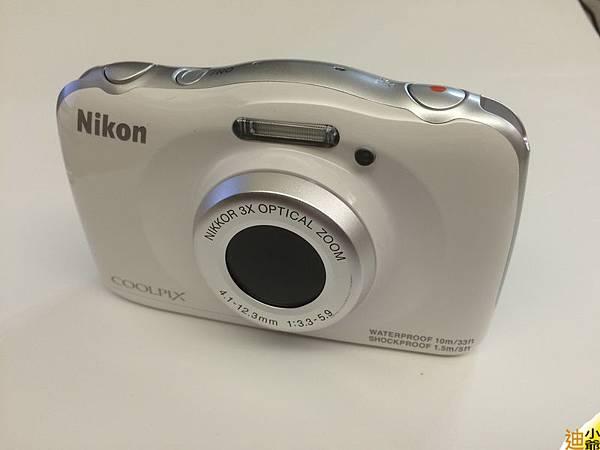 Nikon Coolpix S33 開箱-6
