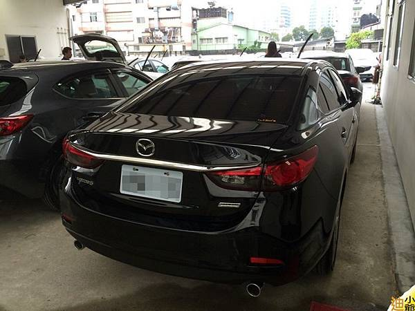 Mazda6 2.2柴油交車-3