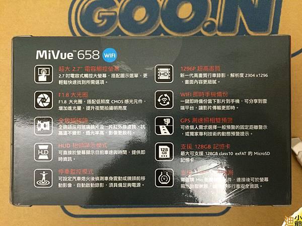 Mio Mivue 658HD Wifi-4