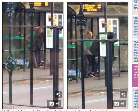 公車站等到凍未條! 男女當場表演「活春宮」影片萬人瘋傳|天下運動網|天下現金網