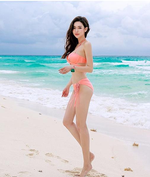 韓國正妹清新又有氣質 但一穿上比基尼...不得了! 走在海灘上回頭率200%|天下現金網|天下運動網