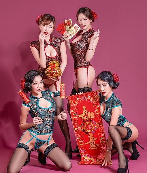 狗年好合!女神艾比「蕾絲旗袍」挑逗影片放送!新春送禮「大尺度福利」來啦!|天下現金網|天下運動網