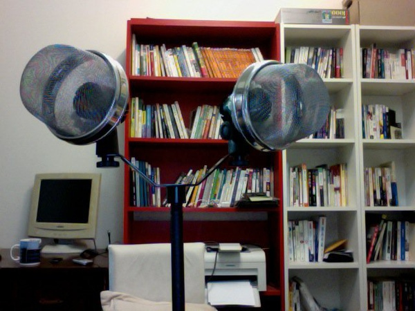 小震膜麥克風立體錄音座支架與防風罩