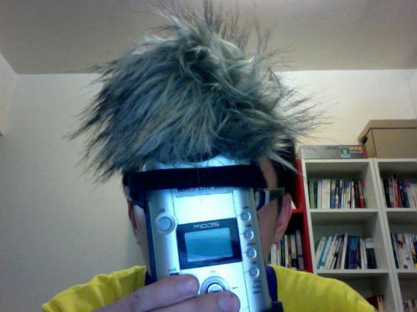 自製zoom h4 風罩