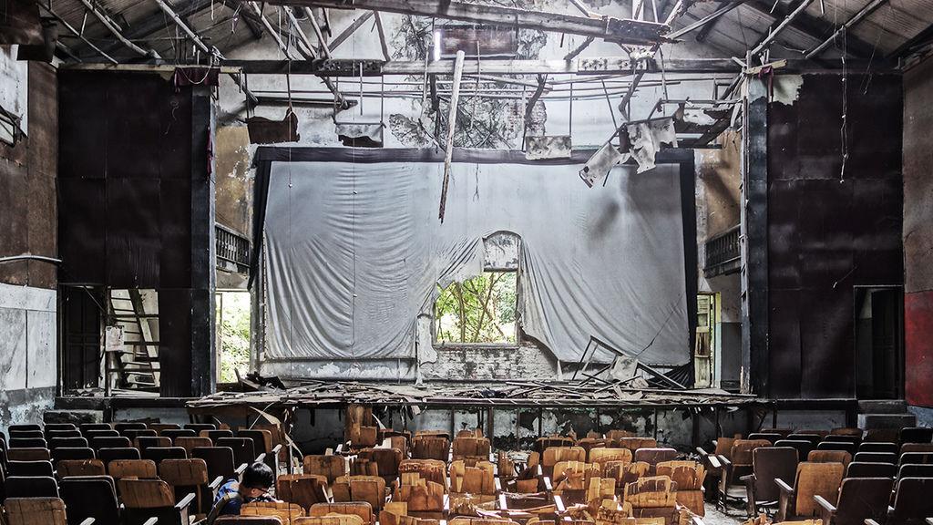西螺大戲院舞台