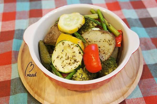 義式烤蔬菜及馬鈴薯