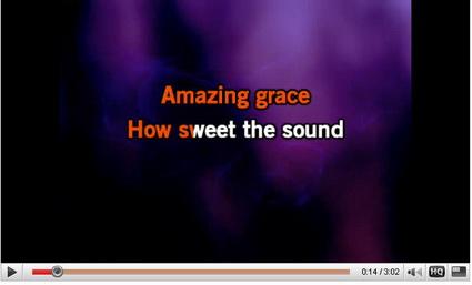 Amazing Grace Karaoke