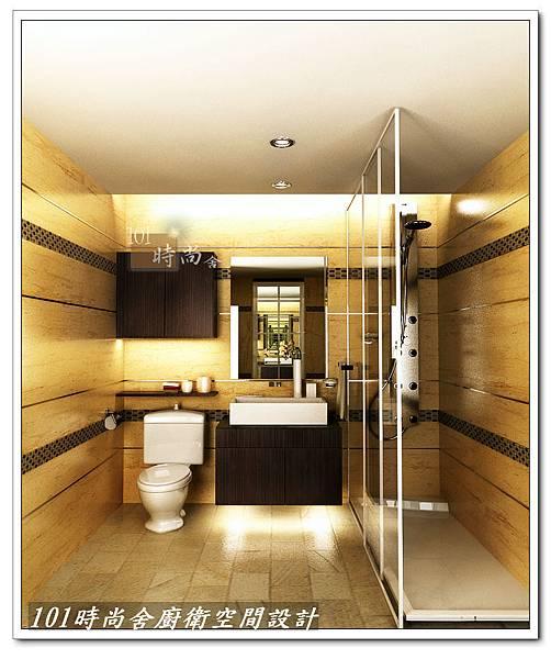 @專業衛浴設計 廚房設計--101時尚舍專業浴室翻修&造型天花板浴室主牆設計500&專業施工