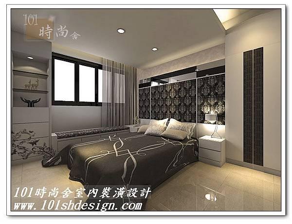 101時尚舍室內裝潢設計-台北市羅斯福路陳公館03