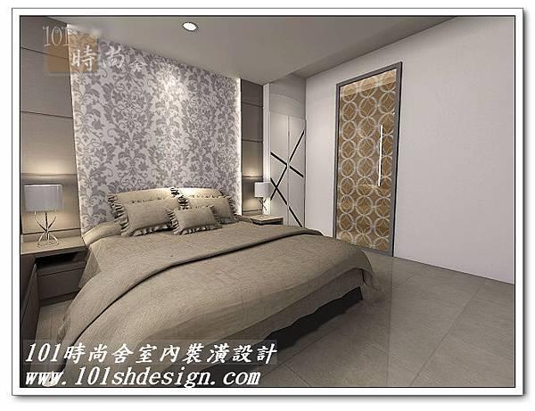 101時尚舍室內裝潢設計-台北市羅斯福路陳公館01