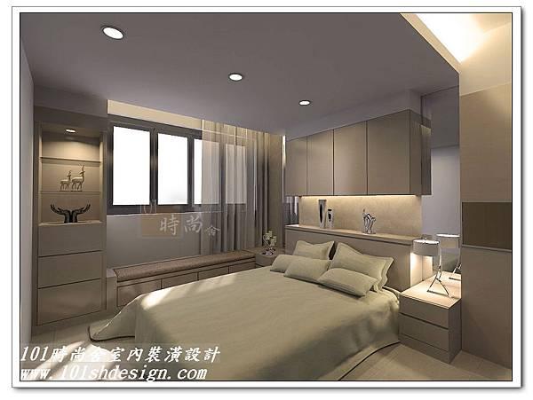 101時尚舍室內裝潢設計-台北市羅斯福路陳公館04
