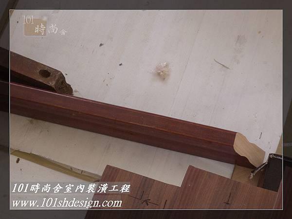 101時尚舍-室內裝潢工程-手扶梯.塑膠地磚工程42