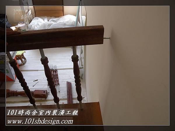 101時尚舍-室內裝潢工程-手扶梯.塑膠地磚工程45