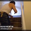 101時尚舍-室內裝潢工程-手扶梯.塑膠地磚工程22