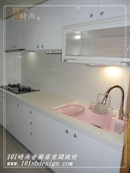 101時尚舍廚房空間設計-中和劉公館07