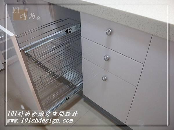 101時尚舍廚房空間設計-中和劉公館26