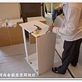 @101時尚舍廚房設計 一字型作品-新店永業路李公館-008