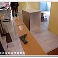 @101時尚舍廚房設計 一字型作品-新店永業路李公館-010