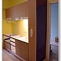 @101時尚舍廚房設計 一字型作品-新店永業路李公館-039