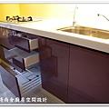 @101時尚舍廚房設計 一字型作品-新店永業路李公館-051
