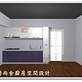@101時尚舍廚房設計 一字型作品-新店永業路李公館-81