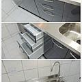 @廚房廚具流理台 不鏽鋼檯面一字型-作品新北市三重中華路張公館-(1).jpg