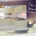 @101時尚舍 L字型廚房設計 作品-桃園市龜山李公館-美耐板門板+木心板桶身+不鏽鋼檯面+豪山牌隱藏式排油機 VEA-8019-01+豪山牌雙口檯面爐ST-2077S+豪山牌烘碗機:FW-8880 -(9).jpg