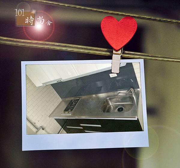 @廚具工廠直營 廚具 廚房設計 不鏽鋼檯面一字型作品台北市北投致遠一路謝公館-不鏽鋼檯面+木心板桶身+五面結鋼烤門板+喜特麗隱藏式排油機JT-1860+豪山雙口平整式瓦斯爐ST-205600 (13).jpg