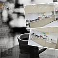 @101時尚舍 L字型廚房設計 作品-新北市三重杜公館-五面結晶鋼烤門板+不鏽鋼桶身+不鏽鋼檯面+林內牌隱藏式排油機RH9126S+林內牌檯面式三口瓦斯爐:RB-3GMB+BOSCH半崁式洗碗機:SMI53D02TC-(17).jpg