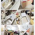 @不鏽鋼檯面一字型廚房 廚房設計圖 廚具工廠直營 作品分享:台北市建國北路黃公館-五面結晶鋼烤門板+木心板桶身+不鏽鋼單水槽:U1-760+豪山牌三機-(2).jpg