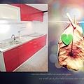 @不鏽鋼檯面一字型廚房 廚房設計圖 廚具工廠直營 作品分享:台北市建國北路黃公館-五面結晶鋼烤門板+木心板桶身+不鏽鋼單水槽:U1-760+豪山牌三機-(6).jpg