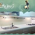 @廚具工廠直營 三星人造石檯面 一字型廚房設計 作品分享:台北市內湖彭公館-美耐門板+木心板桶身+門板崁型把手+櫻花牌隱藏式排油機R3500CL+櫻花牌檯面爐G2522GB-(11).jpg