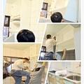 @廚房設計 廚具設計 廚房設計圖 廚房流理台 系統廚具 小套房廚具 廚具工廠直營 一字型廚房設計 作品分享:新北市中和潘公館 不鏽鋼檯面+木心板桶身+水晶門板+喜特麗三機-(0).jpg