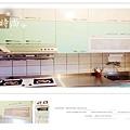 @廚房設計 廚具設計 廚房設計圖 廚房流理台 系統廚具 小套房廚具 廚具工廠直營 一字型廚房設計 作品分享:新北市中和潘公館 不鏽鋼檯面+木心板桶身+水晶門板+喜特麗三機-(3).jpg