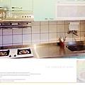 @廚房設計 廚具設計 廚房設計圖 廚房流理台 系統廚具 小套房廚具 廚具工廠直營 一字型廚房設計 作品分享:新北市中和潘公館 不鏽鋼檯面+木心板桶身+水晶門板+喜特麗三機-(4).jpg