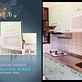 @廚房設計 廚具設計 廚房設計圖 廚房流理台 系統廚具 小套房廚具 廚具工廠直營 一字型廚房設計 作品分享:新北市中和潘公館 不鏽鋼檯面+木心板桶身+水晶門板+喜特麗三機-(7).jpg
