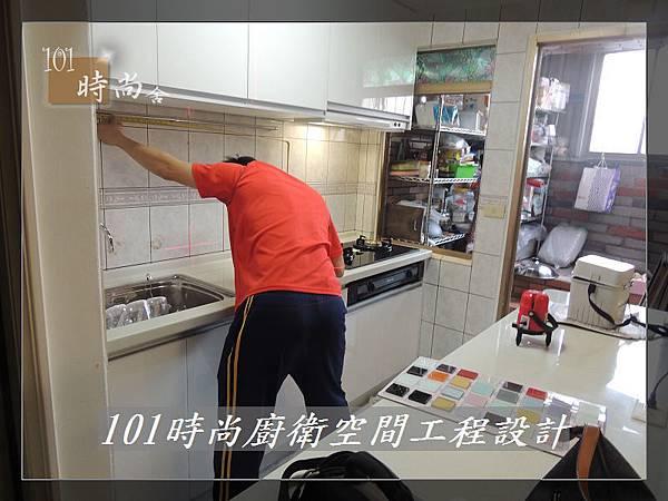 廚房設計一字型  廚具工廠直營 作品分享:竹東謝公館 (6).jpg