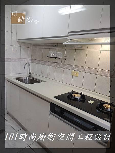 廚房設計一字型  廚具工廠直營 作品分享:竹東謝公館 (31).jpg