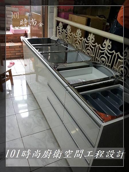 廚房設計一字型  廚具工廠直營 作品分享:竹東謝公館 (43).jpg