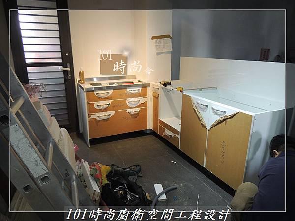 不銹鋼檯面廚具L型 作品-景美范公館(126).JPG