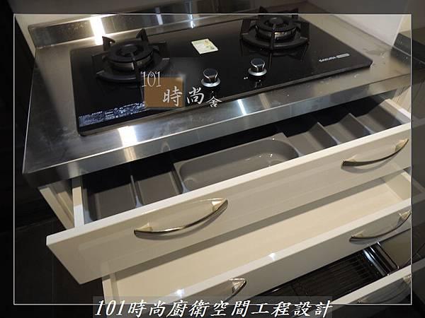 不銹鋼檯面廚具L型 作品-景美范公館(159).JPG