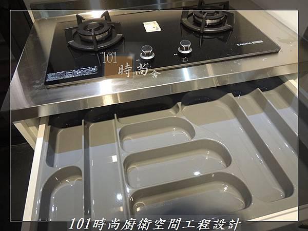 不銹鋼檯面廚具L型 作品-景美范公館(161).JPG
