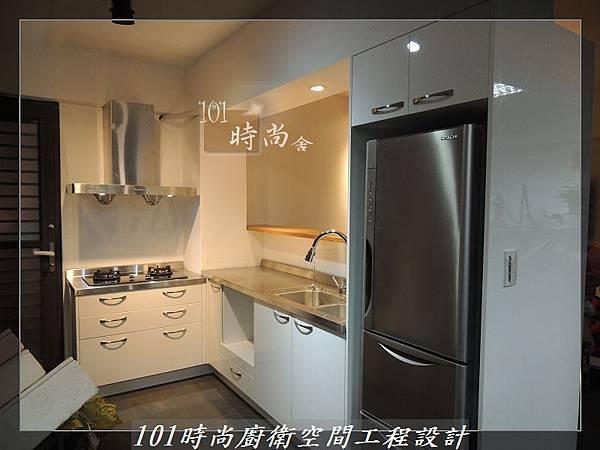 不銹鋼檯面廚具L型 作品-景美范公館(173).JPG